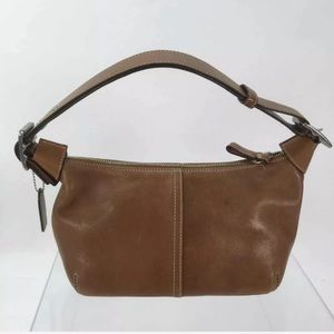 Coach Camel Brown Leather Hobo Shoulder Pu…